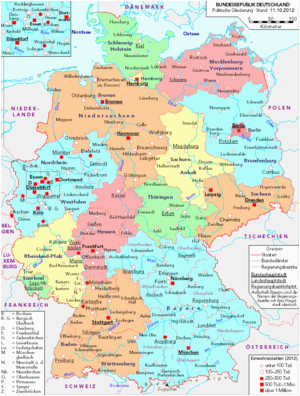 list of cities and towns in germany wikipedia