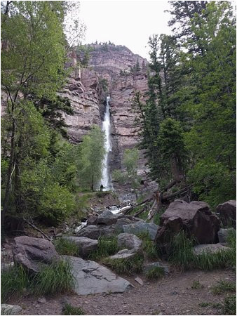cascade falls ouray colorado picture of lower cascade trail and