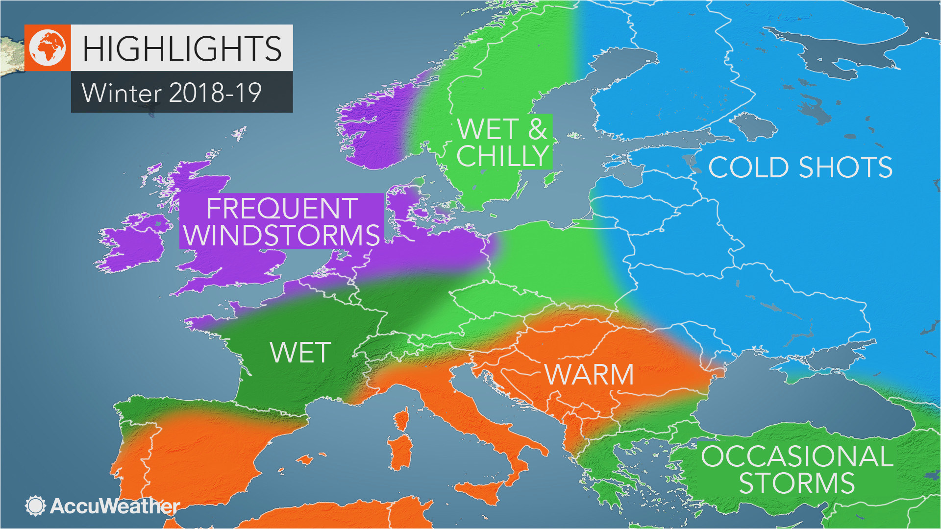 accuweather s europe winter forecast for the 2018 2019 season