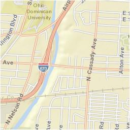 the city of bexley ohio bexley cra map