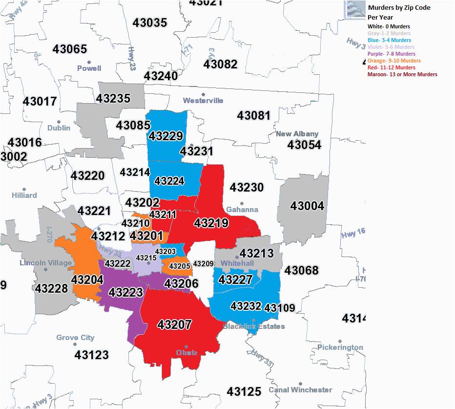 Dayton Ohio Zip Code Map Ohio County Map with Zip Codes ...