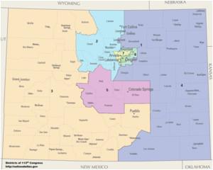 colorado s congressional districts wikipedia