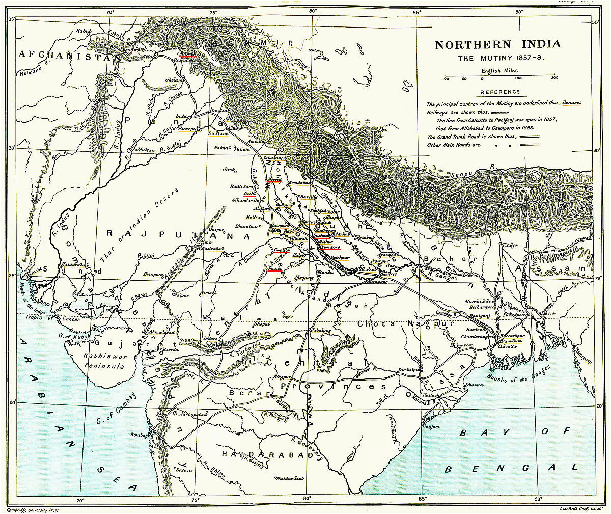 indian rebellion of 1857 wikipedia