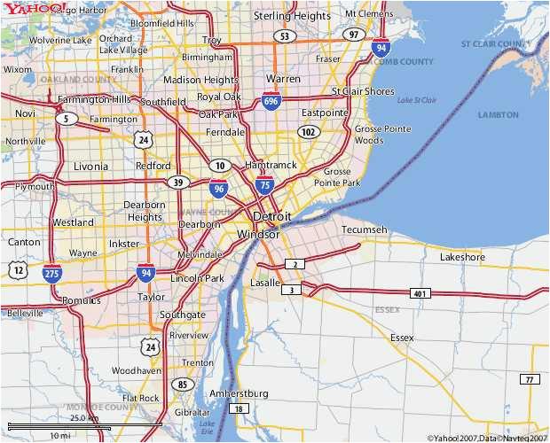 airports in michigan map beautiful michigan maps directions