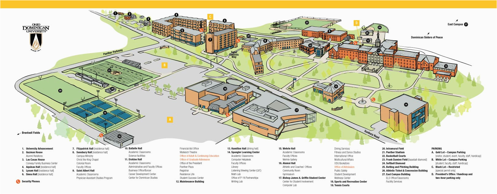 Dominican University Of California Campus Map | secretmuseum on