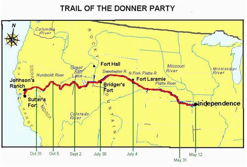 the tragic story of the donner party legends of america