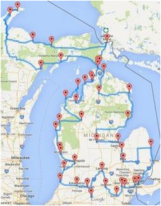Douglas Lake Michigan Map 71 Best Michigan Beachtowns In the News Images Destinations Grand