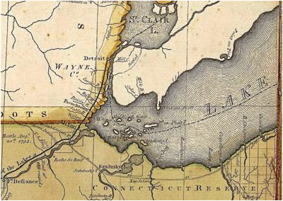 Downriver Michigan Map Historical Program to Showcase Gibraltar S 180 Years Of Existence