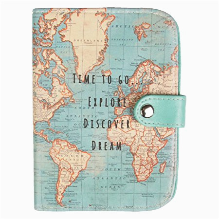 Dream Stream Colorado Map S Belle Vintage World Map Pport ... on