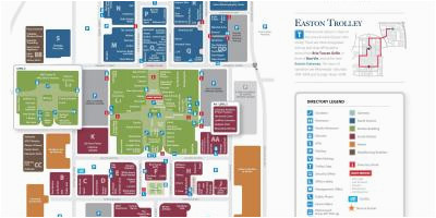 Easton Mall Map Easton town Center Columbus Ohio Map Easton Mall Map Luxury Maps