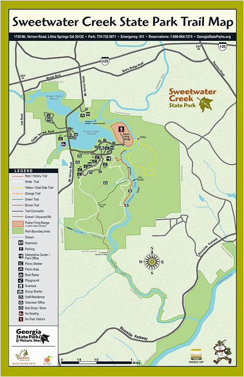 trails at sweetwater creek state park georgia state parks d