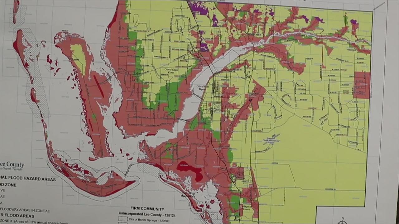 flood insurance map fresh lee county urges head start on hurricane
