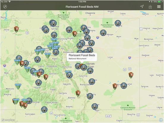 Florissant Colorado Map | secretmuseum
