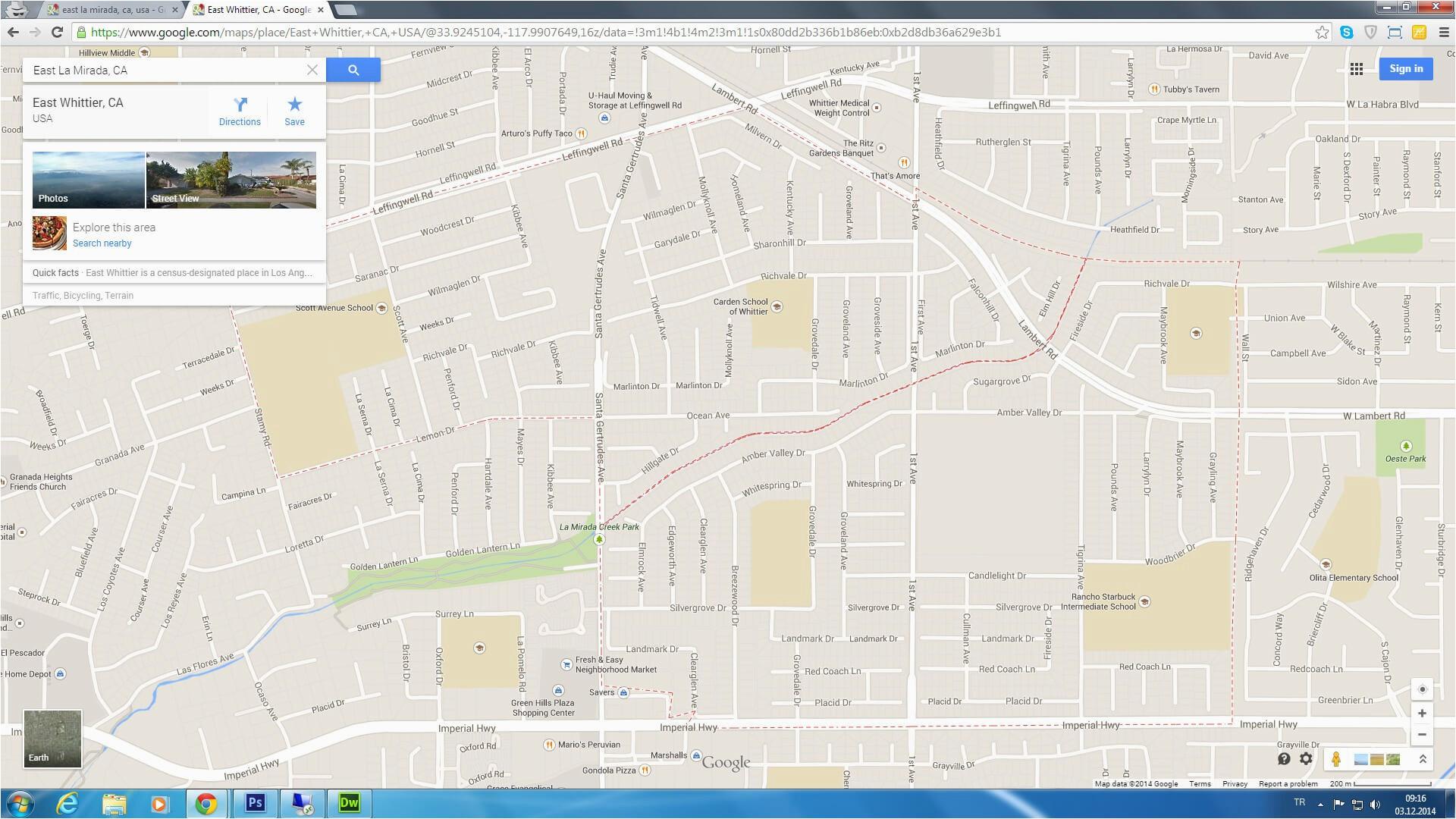 Fontana California Map | secretmuseum