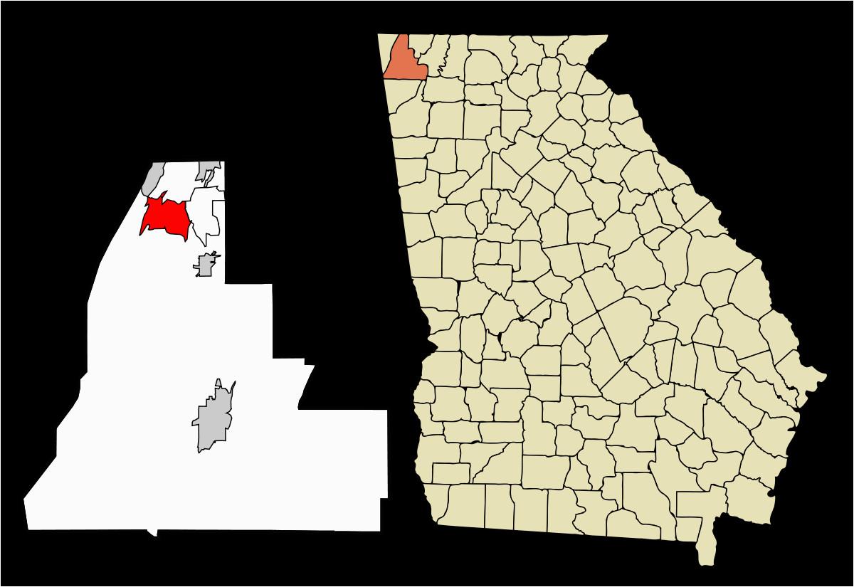 georgia county map elegant chattanooga valley georgia ny county map