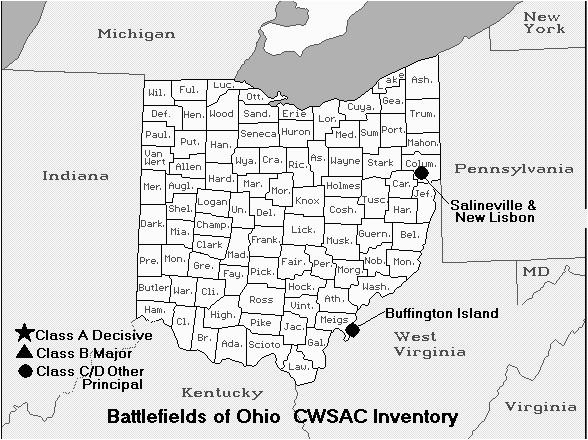 ohio civil war battles 1861 1877 the civil war reconstruction