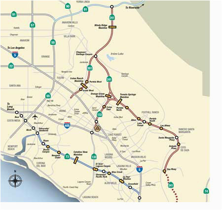 map rates the toll roads