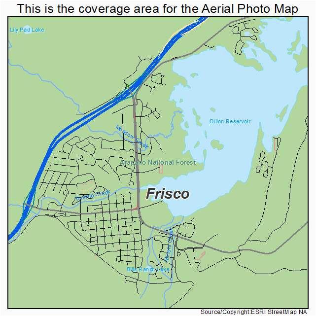 Frisco Colorado Map | secretmuseum on