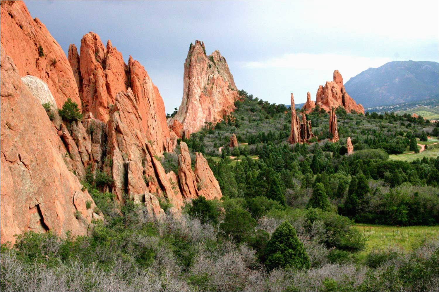 Garden Of the Gods Colorado Map Colorado Springs Garden Of the Gods Activities Colorado Com