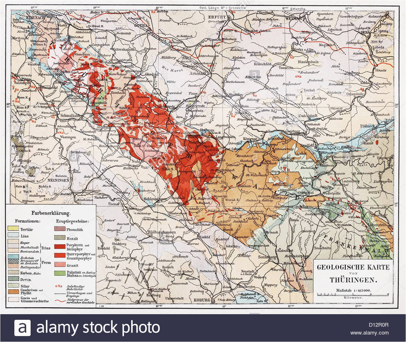 geological map stock photos geological map stock images alamy