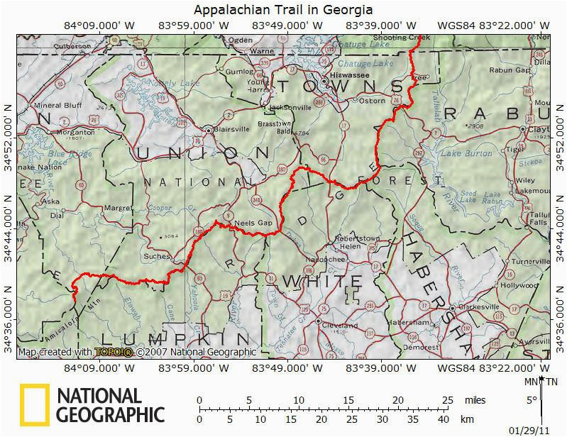 appalachian trail georgia map awesome the history of hiking the