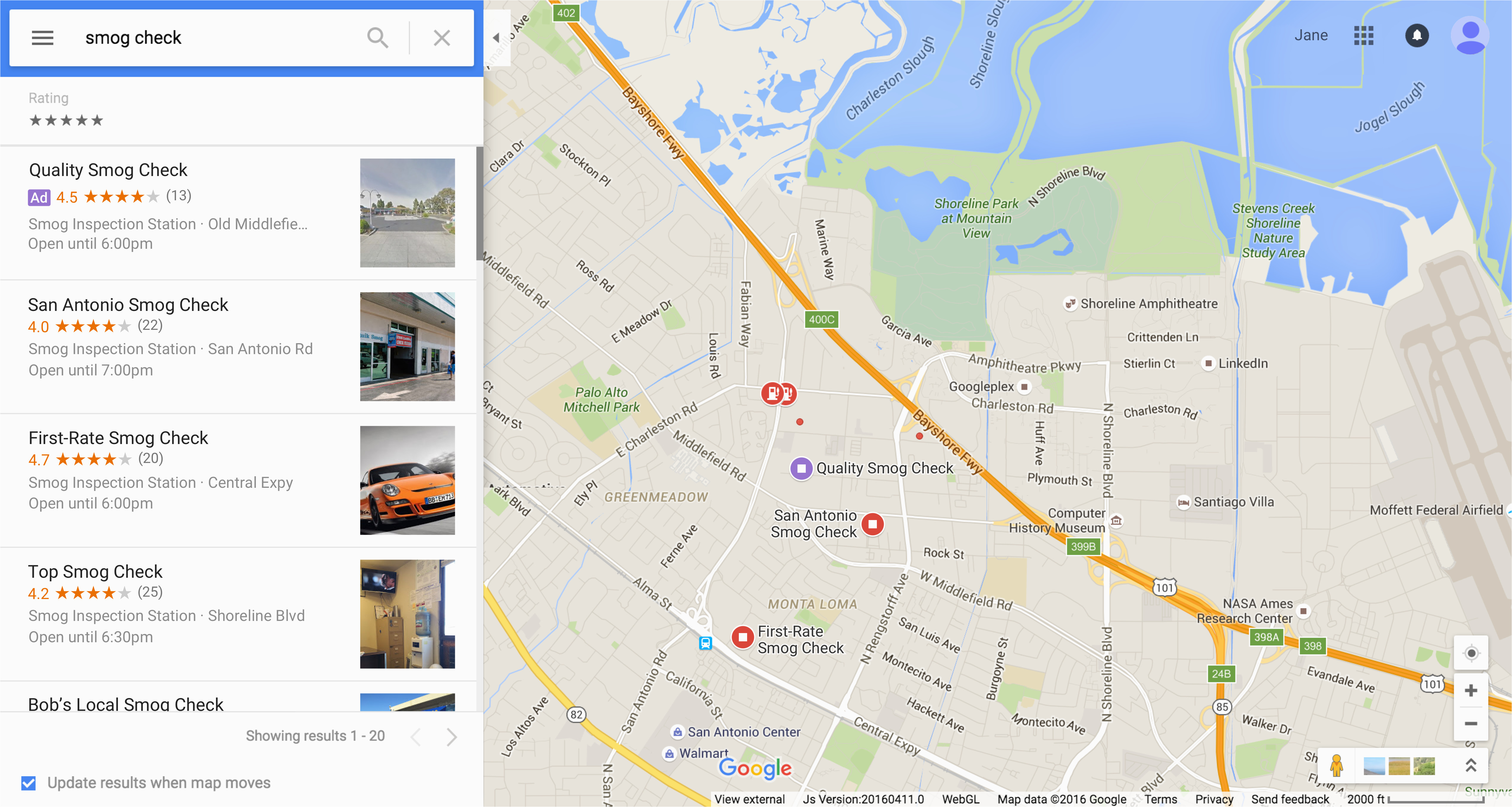 about local search ads google ads help