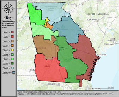 georgia s congressional districts wikipedia