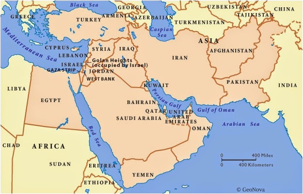 photograph relating to Printable Maps of the Middle East called Ga Heart East Map Blank Map Of Heart East Blank Map