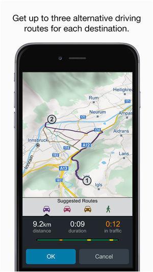 genius maps gps navigation on the app store