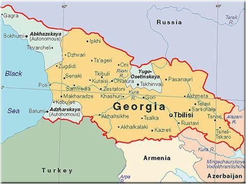 Georgia On Map Of Europe.Georgia On Map Of Europe The Georgia Sdsu Program Is Located In