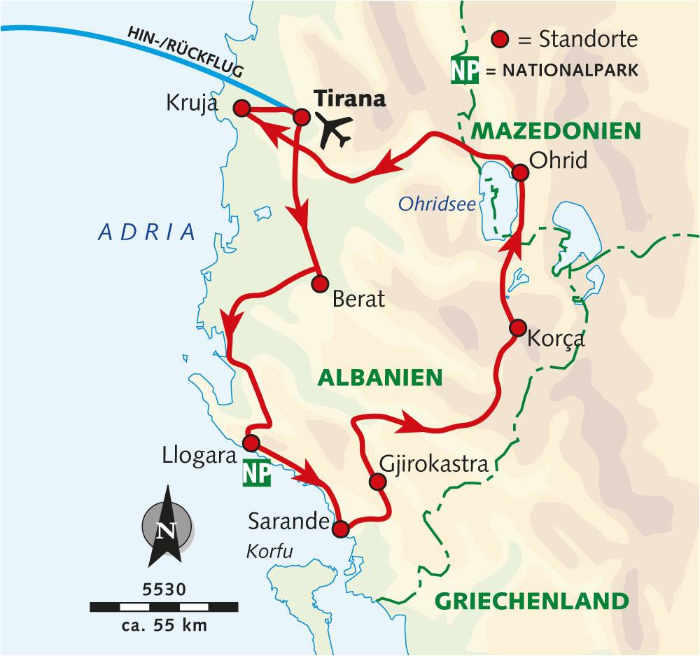 wanderreise im land der skipetaren albanien wikinger reisen