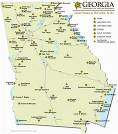 Map Of Georgia Prisons.Georgia Prisons Map 555 Best Georgia Places To See Things To Do