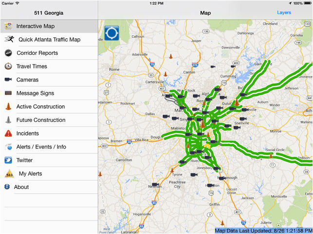 511 georgia atlanta traffic on the app store
