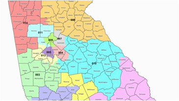 map georgia s congressional districts