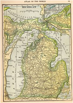 30 best maps images map of michigan antique maps lake michigan