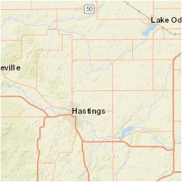 usgs site map for usgs 04117500 thornapple river near hastings mi