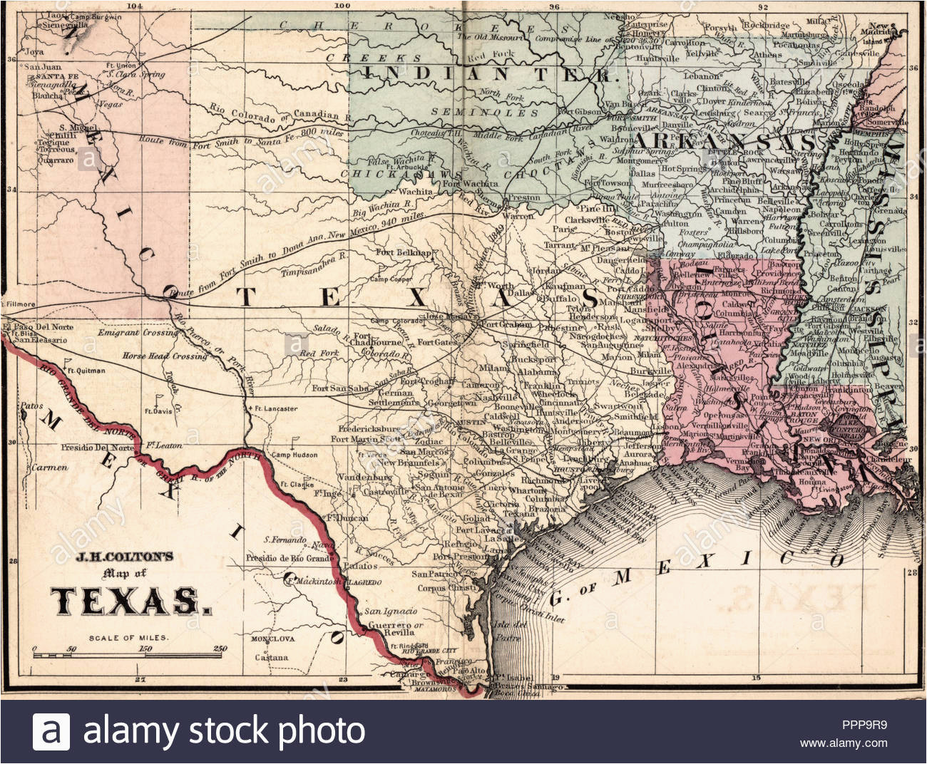map of texas stockfotos map of texas bilder alamy