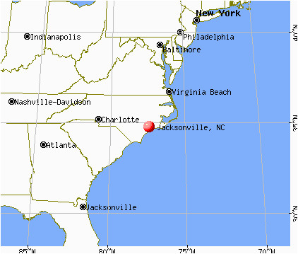 map of jacksonville north carolina bnhspine com