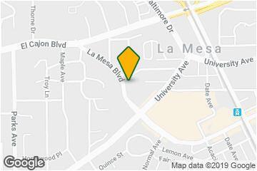 La Mesa California Map Secretmuseum