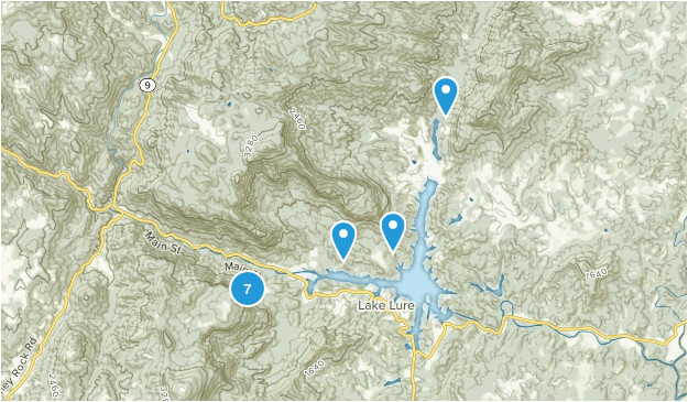 Lake Lure north Carolina Map Best Trails Near Lake Lure north Carolina Alltrails