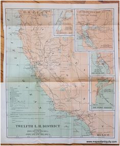 67 best california maps and prints images antique maps california