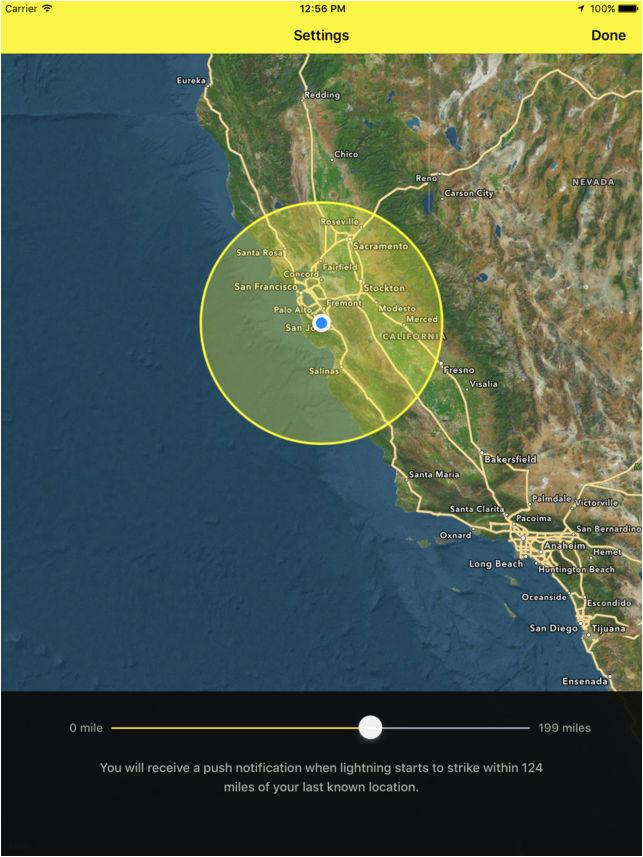 my lightning tracker alerts on the app store