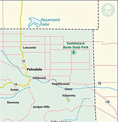 amazon com los angeles county map laminated 36 w x 37 h