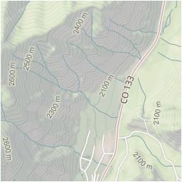 Map Carbondale Colorado Perham Creek Trail White River National ...