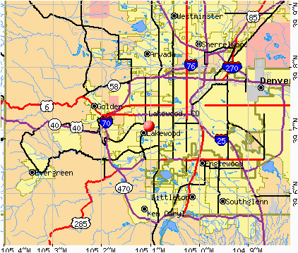 Lakewood Colorado Map Map Lakewood Colorado | secretmuseum