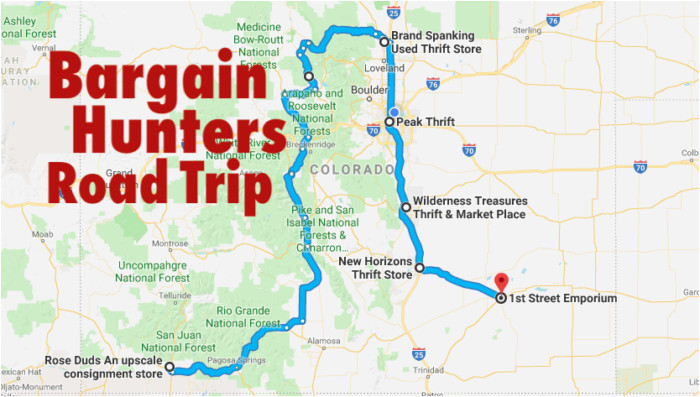 this bargain hunters road trip will take you to the best thrift