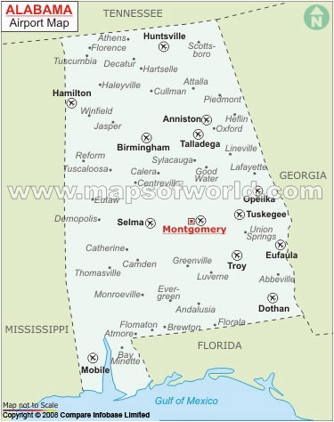 buy alabama airports map