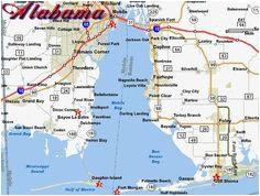 alabama beaches map best of fracking map united states valid