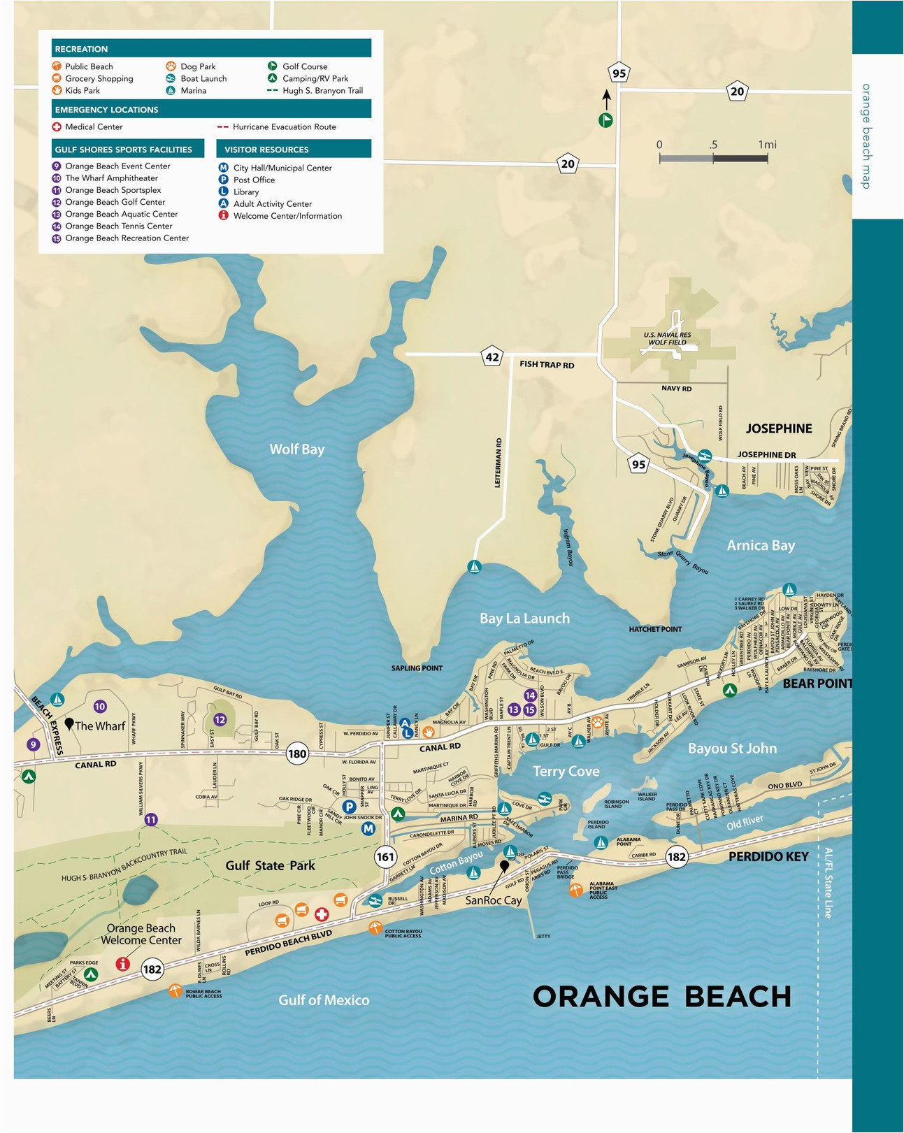 alabama beaches map unique gulf shores orange beach maps directions