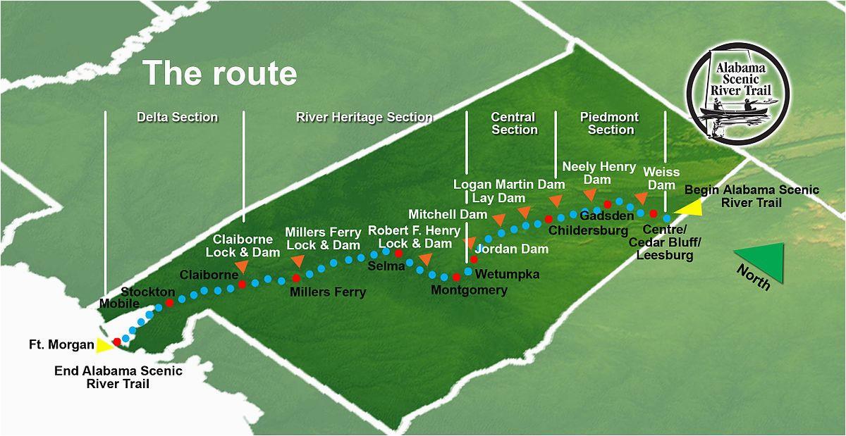 alabama scenic river trail wikipedia
